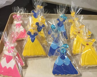 Princess Dresses Cookie