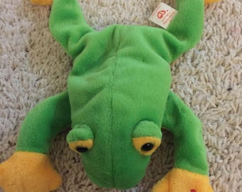 Smoochy the Tree Frog Ty Beanie babies plush toy