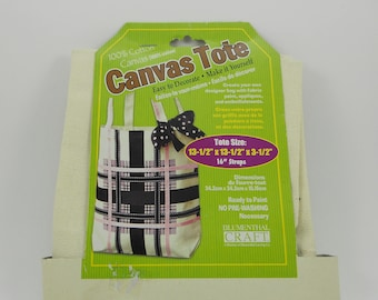 Canvas Tote Bag, Create Your Own Designer Bag