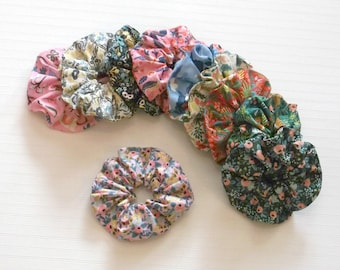 Boho Floral Rifle Paper Co Fabric Scrunchie Scrunchy Many Prints