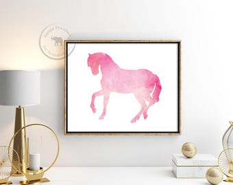 Horse Digital Download Printable Art Horse Prints Horse Print Horse Art Animal Wall Art Horse Decor Horse Wall Art Instant Download