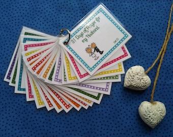 Praying for your Husband (set 2) - Prayer cards