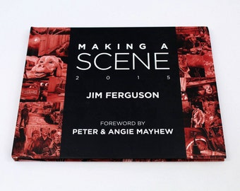 Making a Scene - Jim Ferguson 2015 Movie scene art book.