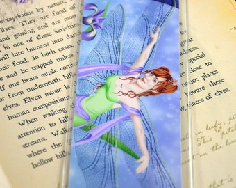 Bookmark Dragonfly Fairy - The Dancer