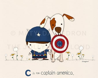 C is for Captain America