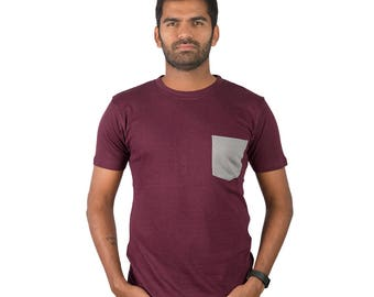 Organic bamboo cotton T-shirt