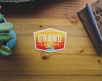 Vinyl Sticker - Grand Canyon National Park