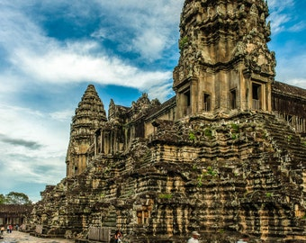 "Cambodia's Treasure -  ""Angkor Wat""  Fine Art Photograph (9.5"" x 13.25"" Digital Print on 14"" x 18"" Board)"