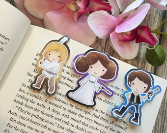 Vintage Star Wars Inspired Bookmarks