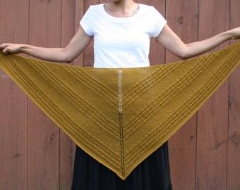 Shawl wrap knitting pattern