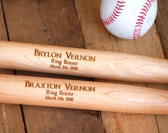 9 Personalized Groomsmen Gift, Engraved Baseball Bat, Ring Bearer Gift, Sports Wedding Gift, Usher Gift, Groomsmen Gift, Personalized Bat