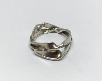 the sea weed ring wedding ring