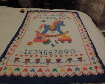Rock A By Baby Quilt