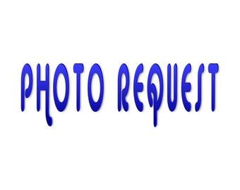 Photo Request -Add a Photo
