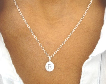 E Initial Necklace 'E' Necklace Initial Jewelry Initial Jewellery uk shop MORE INITIALS AVAILABLE!   Birthday Gift Mothers Day Gift