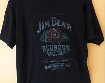 Jim Beam shirt  Bourbon Kentucky Straight Bourbon Whiskey Men's XL T-Shirt