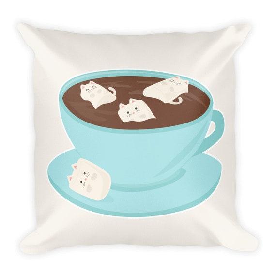 Marshmeowlows Pillow