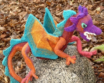 Doughty Dragon Knitting Pattern