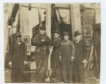Workers, Foreman, c1920s-30s: Vintage Snapshot Photo (71539)