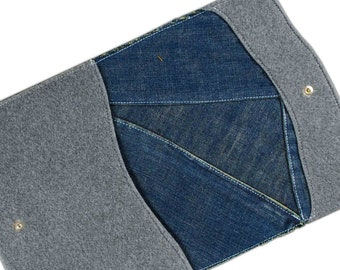 Unique: Tab sleeve skirt with two seams