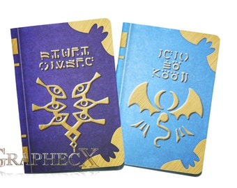 Fan-made Fire Emblem Spell Tomes Book of Naga Grima's Truth inspired personalized journal notebook