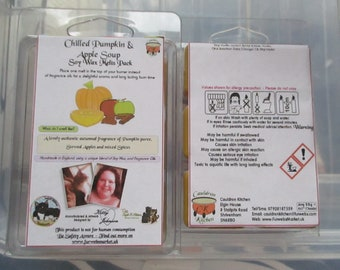 Chilled Pumpkin & Apple Soup Scented Soy Wax Melts Pack