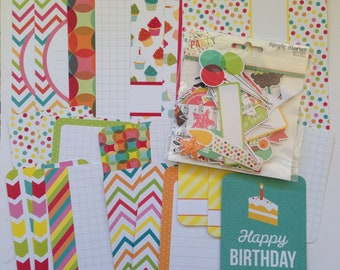 Let's Party - Project Life Kit, Planner Kit, Journaling Cards, PL, Stationary