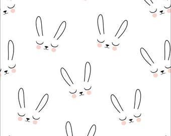 sleepy bunny biologisch kinder stof, kimsa, biologisch, gots