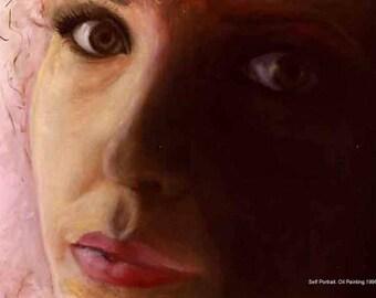 Custom Selfie Portrait Painting, Custom Family Portrait, Self Portrait, Oil Painting, Selfie Paintings on Canvas, Catherine's Studio Art