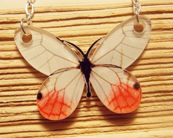 Acrylic Butterfly Necklace