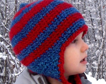 Jenji Earflapper Hat (Crochet Pattern for all Sizes)