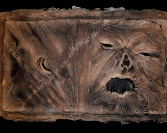 Gothic Evil NECRONOMICON Book of the Dead latex BOOK COVER #8 - Painted