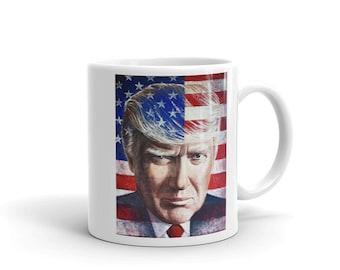 Trump Mug, Custom Mug, Coffee Mug, Cool Mug, Republican Mug,