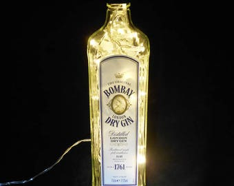Bombay Dry Gin Bottle Light