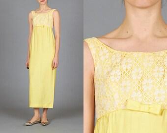 60s Lemon Dress