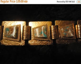ON SALE Vintage Copper Bracelet 1950's 1960's Collectible Rockabilly Mad Men Mod Jewelry Accessories Mid Century