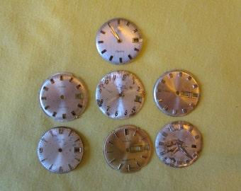 Seven watch faces