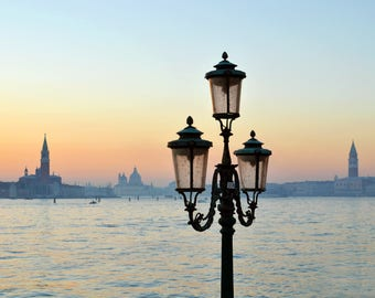Italy Photography, Venice, Italy Photo Print, Dolce Vita, Winter Sunset, Sunset, Home Decor, Photo Prints, Italy Home Decor