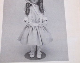 """FREE SHIPPING/Byon Doll Patterns/Reproduction Doll BY-159/""""Natalie""""/Vintage Doll Pattern/Fits a 19"""" Doll/Uncut"""