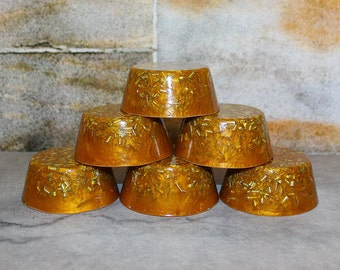 Set of Six (6) Orgone Towerbusters (Orange)
