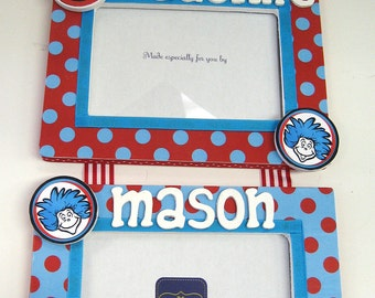 Thing 1 and Thing 2  Girl/Boy Hanging Frame