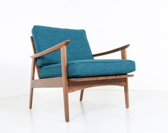 Mid Century Danish Sculptural Lounge Chair
