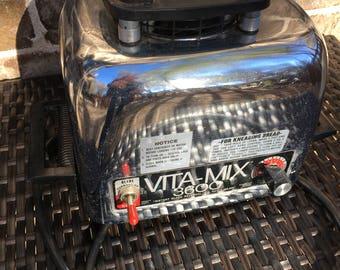 Vita-Mix 3600 Chrome Stainless Steel Motor Base Only Model 479041