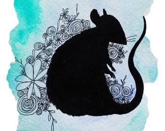 Resting Rat