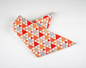 Pocket bag with Tigaya fabric