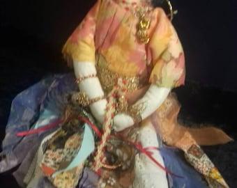 Gypsy art doll