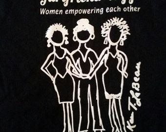 Gurlfriendology Tshirts (meduim)