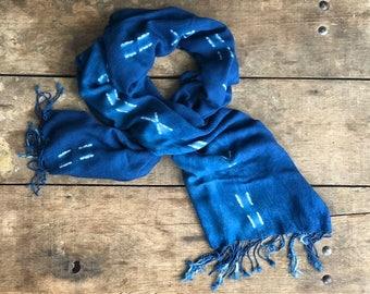 Hand Dyed Indigo Wrap