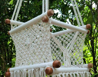 Baby hammock swing chair macrame. Fast shipping.