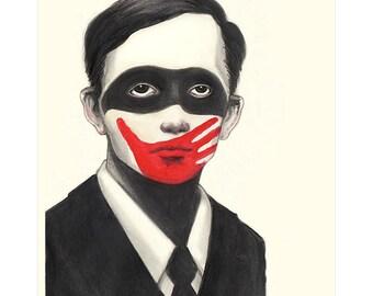 Don't See, Don't Speak— Art print